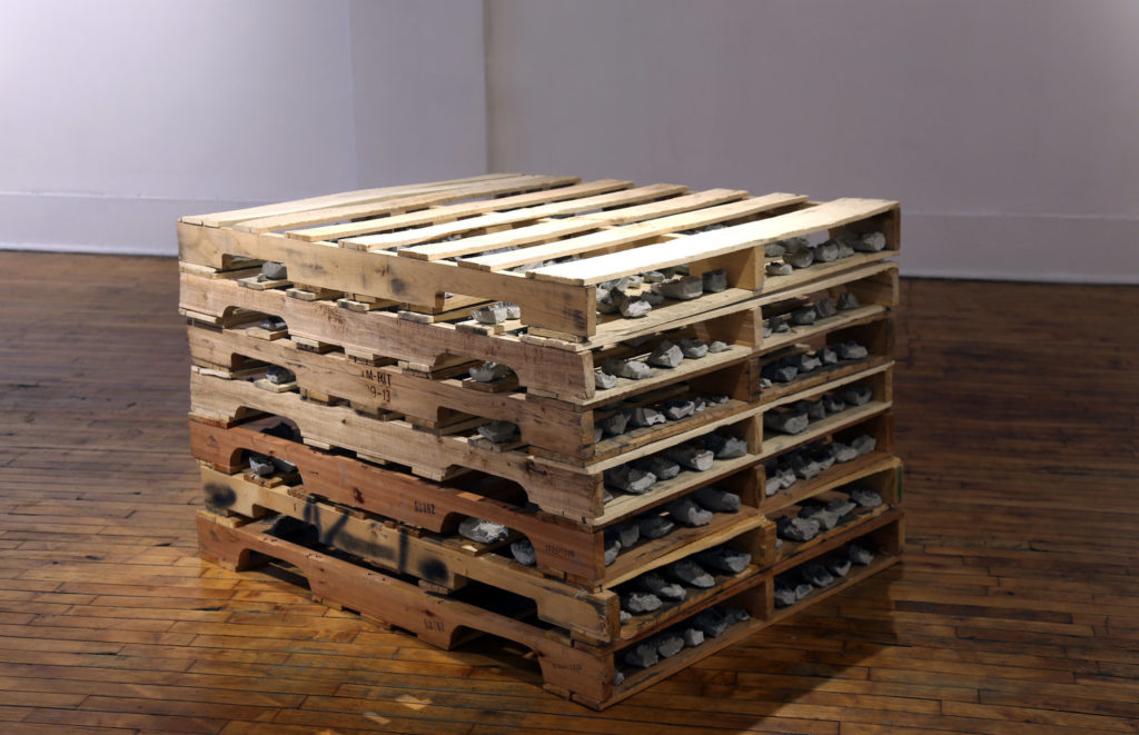 What kind of wood are pallets made of?
