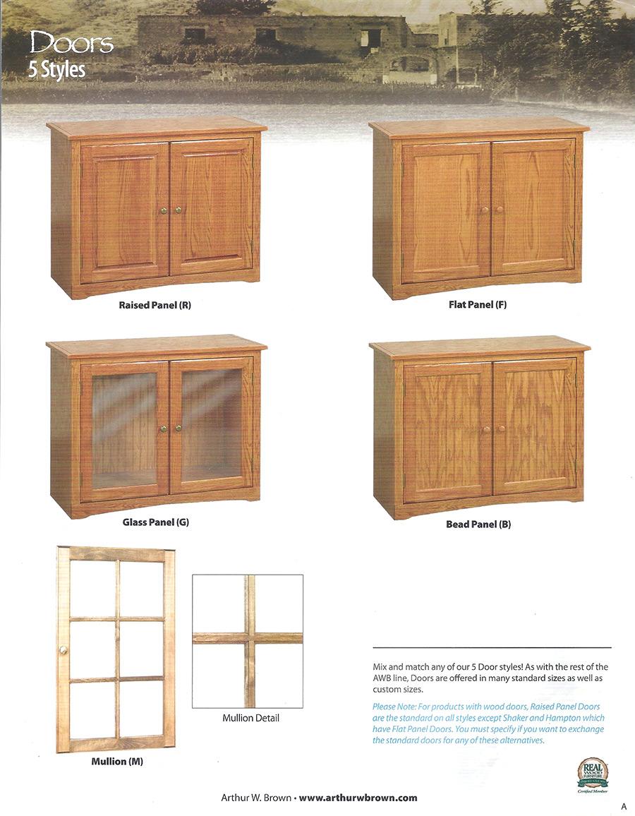 doors 5 styles