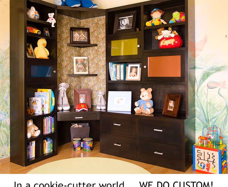 In a cookie-cutter world… WE DO CUSTOM!